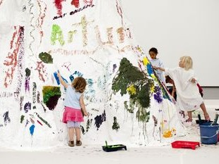 Exkursion kulturelle Bildung, Schule, Wandertag, Kunsthalle